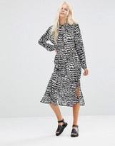 Minimum Thecla Printed Shirt Dress