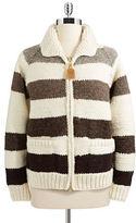 HBC Hudson'S Bay Company Women's Canadian Hand Knit Millennium Sweater