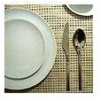 """Chilewich - Basketweave Placemat, Aluminum, 14"""" X 19"""""""