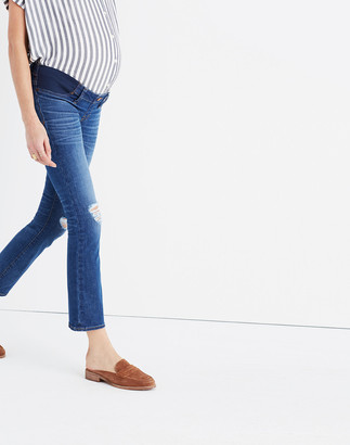 Madewell Maternity Demi-Boot Jeans in Robin Wash