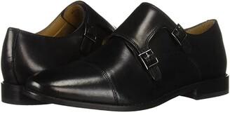 Florsheim Montinaro Double Monk Strap (Black Smooth) Men's Shoes