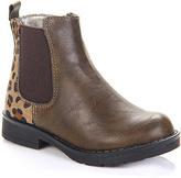 Jelly Beans Light Brown Elastic Boot