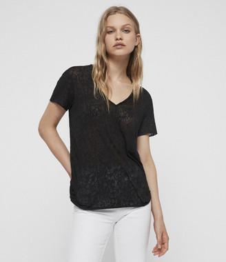 AllSaints Emelyn Leo T-Shirt