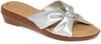 TUSCANY by Easy Street Cella Wedge Slide Sandal
