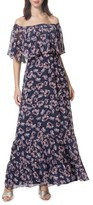 Donna Morgan Women's Off The Shoulder Maxi Dress