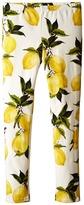 Dolce & Gabbana Limoni Leggings (Big Kids)