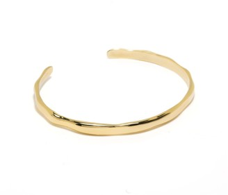 Coco Mango Jewellery Luxe Aubree 18K Gold Cuff Bracelet