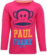 Paul Frank LONGSLEEVE Long sleeved top bright pink