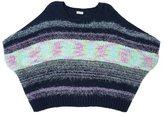 Splendid Girl Mixed Yarn Sweater