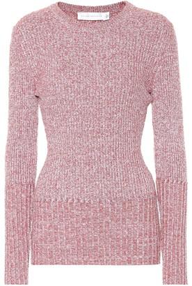 Victoria Beckham Ribbed wool-blend sweater