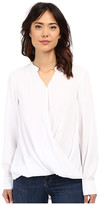 Blank NYC Drape Front Shirt