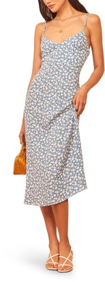Reformation Nella Sleeveless Midi Dress