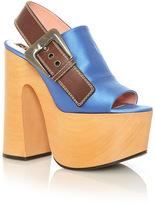 Rochas Platform Slingback Sandal