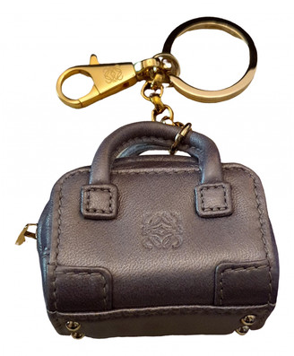 Loewe Metallic Leather Bag charms
