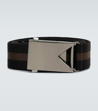 Bottega Veneta Striped fabric belt