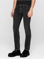 Calvin Klein Straight Leg Faded Black Jeans