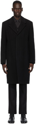 Maison Margiela Black Wool Coat