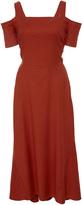 A.L.C. Daniel Cold Shoulder Midi Dress