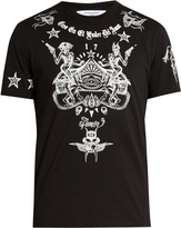 Givenchy Cuban-fit tattoo-print T-shirt