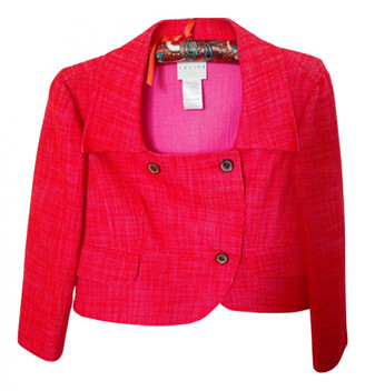 Celine Pink Cotton Jackets
