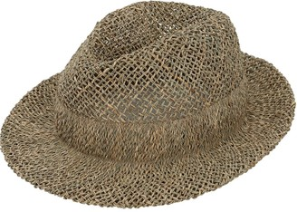 Scha Checago Seagrass Straw Hat