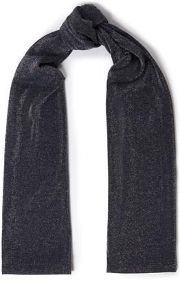 Missoni Metallic Knitted Scarf
