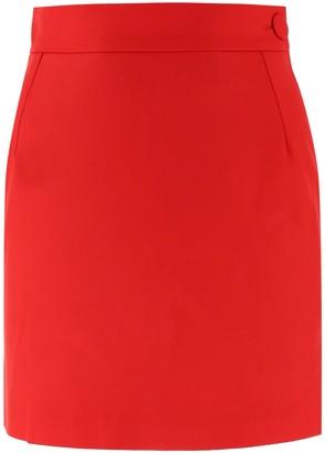 ATTICO Wool Mini Skirt