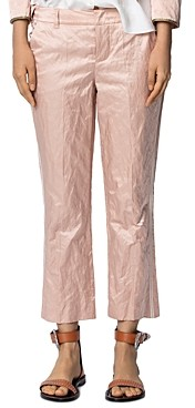Zadig & Voltaire Posh Cropped Satin Pants