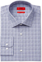 HUGO BOSS HUGO Men's Slim-Fit Navy Check Dress Shirt
