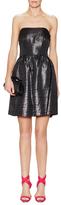 Shoshanna Chelsea Metallic Strapless Dress