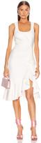 Cinq à Sept Angela Dress in Ivory | FWRD