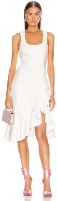 Cinq à Sept Angela Dress in Ivory   FWRD