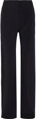 Rosetta Getty Stretch-crepe Wide-leg Pants