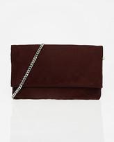 Le Château Suede-Like Crossbody Bag