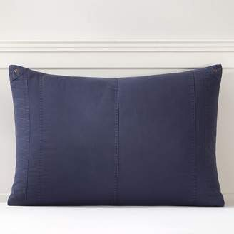 Pottery Barn Teen Essential Cargo Sham, Standard, Classic Navy