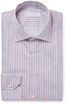 Etro - Mercurino Slim-fit Striped Cotton Shirt