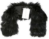 Adrienne Landau Fur Clip Stole w/ Tags