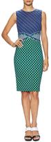 Diane von Furstenberg Evita Silk Printed Sheath Dress