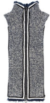 Veronica Beard Luca turtleneck zip gilet