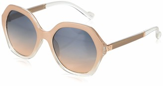 Jessica Simpson Women's J5656 Ndx Non-Polarized Iridium Round Sunglasses