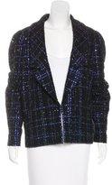 Chanel 2016 Embellished Tweed Blazer