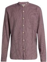 Oliver Spencer Granddad-collar Cotton Shirt