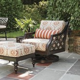Tommy Bahama Sands Swivel Patio Chair with Sunbrella Cushions Outdoor