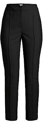 Rebecca Taylor Women's Cropped Virgin-Wool Blend Suit Pants