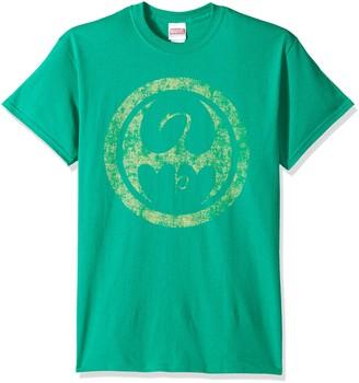 Marvel Men's Iron Fist Logo T-Shirt
