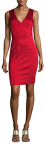 Zac Posen Polly Solid Sheath Dress