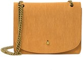 Madewell The Chain Corduroy Suede Crossbody Bag