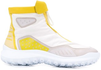 Camper Lab colour block ankle boots