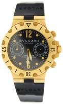 Bulgari Diagono Scuba SC38G Chronograph Automatic 18K Yellow Gold Watch
