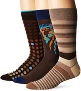Bugatchi Men's Three-Pack Delmore Sock